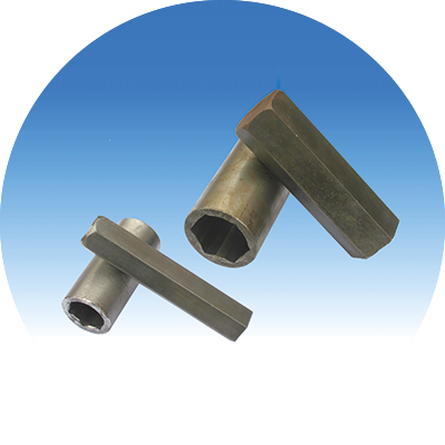 Hexagon coupler and pin, <br />