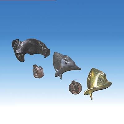 Fischschwanzspitzen <br /> in vielen Größen.