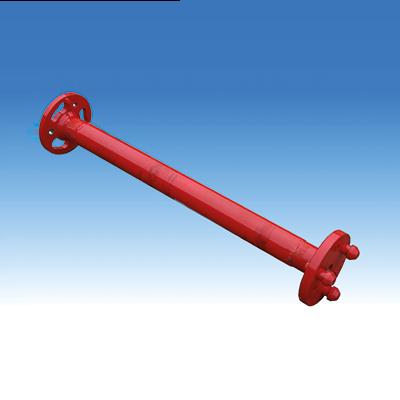 Glat boreforlænger <br /> med Flangekoblinger <br /> type: APB 69<br /> <br /> Standardlængde <br /> 1000 mm & 2000 mm