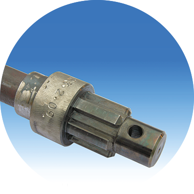 Multiple nut coupling. <br />