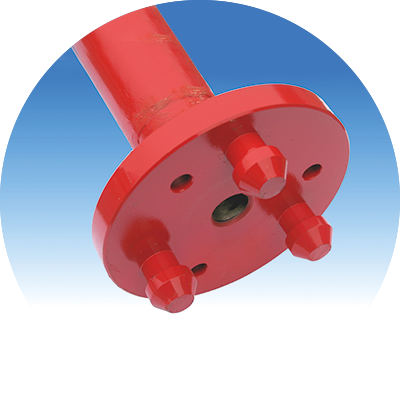 Flange coupling, male, <br />
